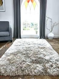 big fur rug cool large fur rug luxurious sheepskin caramel grey rugs round faux