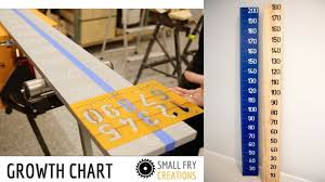 2x4 Ruler Growth Chart How To Make A Growth Chart No Tools