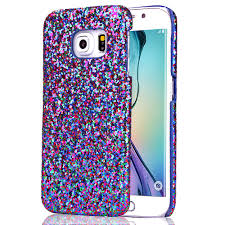 samsung galaxy s6 phone cases for girls. for samsung galaxy s6 edge luxury case, super cool stylish sparkle bling hard case cover dark blue freepost-in phone cases from girls c