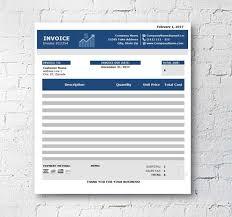 Customer Invoice Template Excel Unique Business Invoice Template Excel Spreadsheet Custom Etsy
