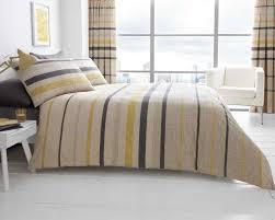 Block Stripe Printed Duvet Quilt Cover Bedding Set | Beige ... & block stripe beige quilt cover Adamdwight.com