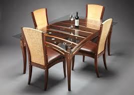 rectangular glass dining table wood base elegant dining room decoration using glass dining table base amazing
