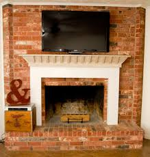 marvellous ideas tv stand for fireplace mantel 6 adding alarge tv over existing fireplace to decorate