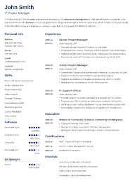 Resume Layout Templates Custom 28 Resume Templates [Download] Create Your Resume In 28 Minutes
