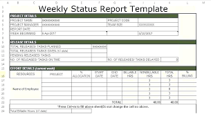 Project Management Report Templates Multiple Project Status Report Template Excel Free Templates