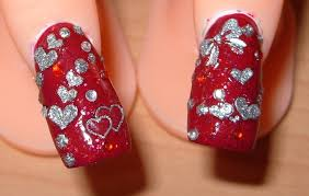 Off With Their Heads Queen Of Hearts Nail Art Chalkboard Nails. I ...