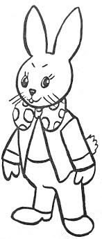 Coloriage Lapin Costum