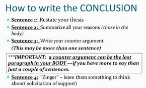 How To Write A Conclusion For Research Paper Structure Examples
