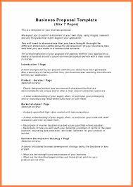 Business Proposals Templates 7 Free Business Proposals Andrew Gunsberg