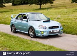 2004 Subaru Impreza wrx sti wr1 at Leighton Hall Classic Car Rally ...