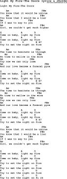 The Doors Light My Fire Chords Set A Fire Chords Dietamed Info