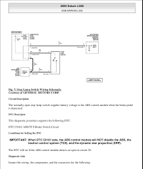 antilock brakes 26 fig 7 stop lamp switch wiring schematic courtesy of general motors