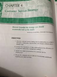 How Would You Describe Customer Service Solved Chapter 4 Customer Service Strategy However Beauti