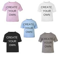 Make Your On Shirt Create Your Own T Shirt Personalised Kids Clothes