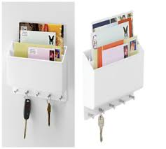 Image is loading BEAUTIFUL-Hanging-Mail-Sorter-For-Inside-Wall-Mount-