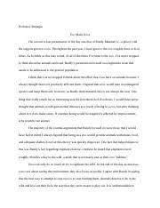literary essay for eleven novel example english  2 pages response presentation