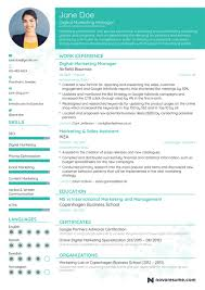 Marketing Manager Resume Example Update Yours Now For 2018 With