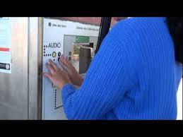 Vta Ticket Vending Machine Locations Classy Caltrain Audible Ticket Vending Machine YouTube