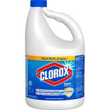 regular concentrated liquid bleach
