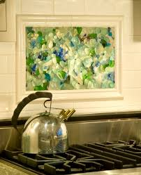 Mural Tiles For Kitchen Decor Framed Kitchen Mural Tiles Backsplash With Stainless Steel Kettle 78