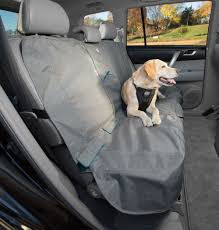 pet seat covers kurgo bench seat cover heather pattern