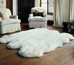 faux fur area rug 8x10 sheepskin area rug impressive white faux fur rug sheepskin regarding wonderful