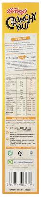 kellogg s crunchy nut c flakes uk import 375g amazon in grocery gourmet foods