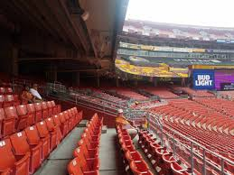 Fedex Field Club Level Seating Chart Washington Redskins Seating Guide Fedexfield