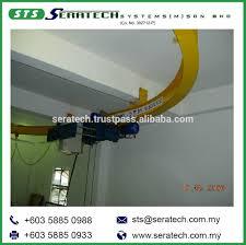 Monorail Crane Beam Design High Quality Custom Design Monorail Curve Type Track Hoist
