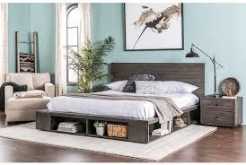 dylan california king platform bed  living spaces