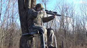 holder used on a climber treestand