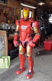 animatronic iron man suit