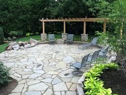 Backyard Stones Patio Gallery Of Best Large Ideas On Backyard Patio
