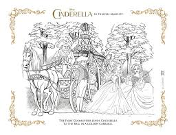 Cinderella story coloring pdf is an instant digital download that is ready for printing and playing for your children. Free Disney Printable Cinderella S Golden Carriage Coloring Page Mama Likes This