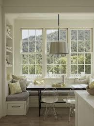 White Bench Kitchen Table
