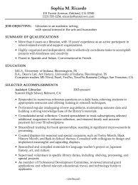 Librarian Resume Sample Best of Sample Academic Librarian Resume Shalomhouseus