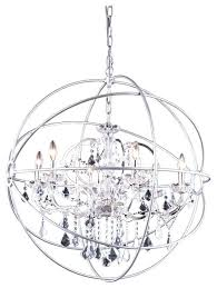 foucaults orb chandelier crystal extra large
