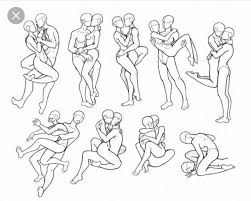 Cute Couple Poses Drawing At Paintingvalleycom Explore Collection