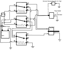 taurus 2 speed fan control wiring diagram