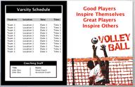 Game Day Program Template Under Fontanacountryinn Com