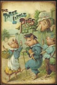 three little pigs one my my favorite books as a child