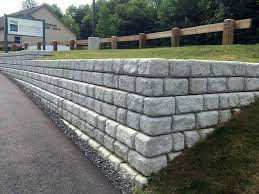 redi rock retaining wall retaining walls redi rock retaining wall design
