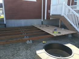 simple wood patio designs. How To Build A Simple DIY Deck On Budget Wood Patio Designs S