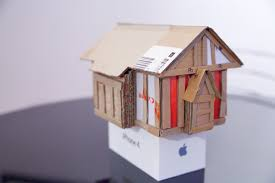 Make a model of a tudor house
