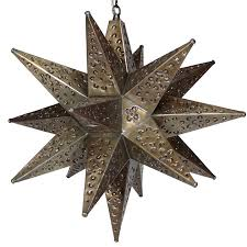 punched tin star light fixture lighting designs