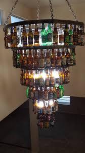 image of beer bottle chandelier nice