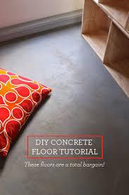 diy concrete floors easy inexpensive design mom bargain diy concrete floor