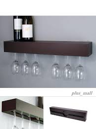 wine glass rack hanger holder under cabinet storage bar wall mount hanging decor with ikea