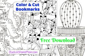 Being able to add bookmark to pdf files is a feature that is offered by only. Free Printable Cut Color Bookmarks Pdf 2 Stuckathomemom