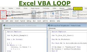Vba Loop Types Of Excel Loops For Next Do While Do